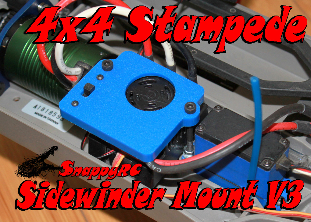 4x4 Stampede with SV3 Sidewinder Mount