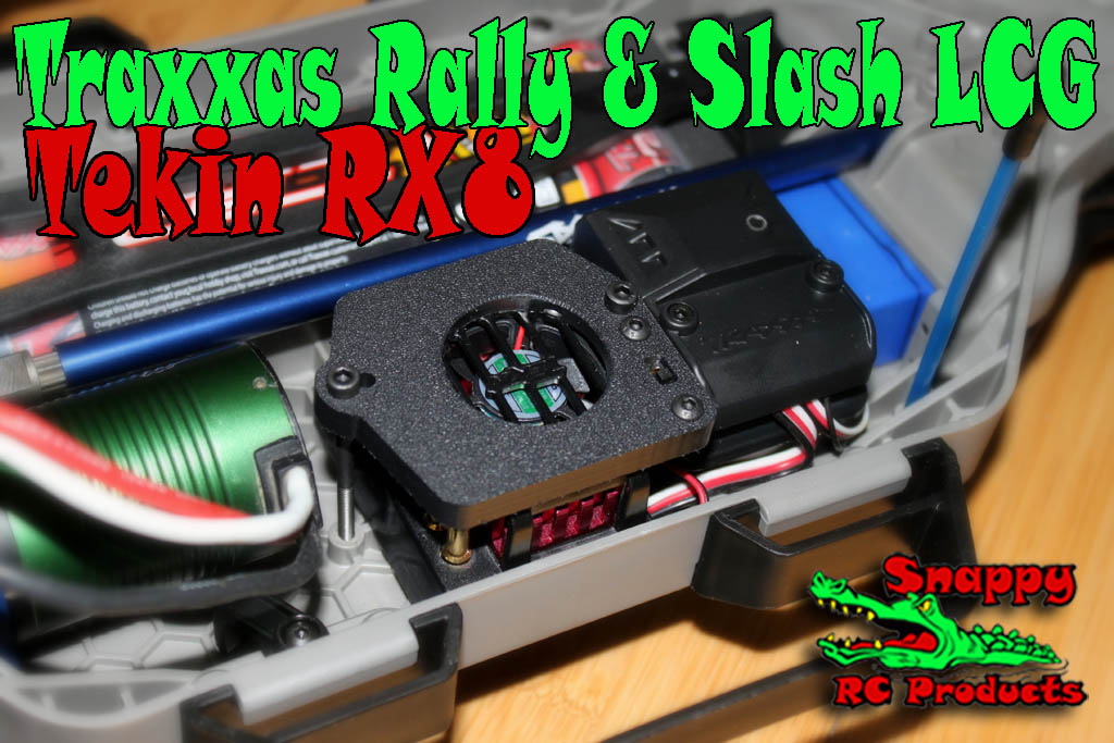 Tekin RX8 ESC mounting kit in Rally & Slash LCG